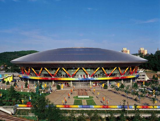 2008北京奥运会老山自行车馆