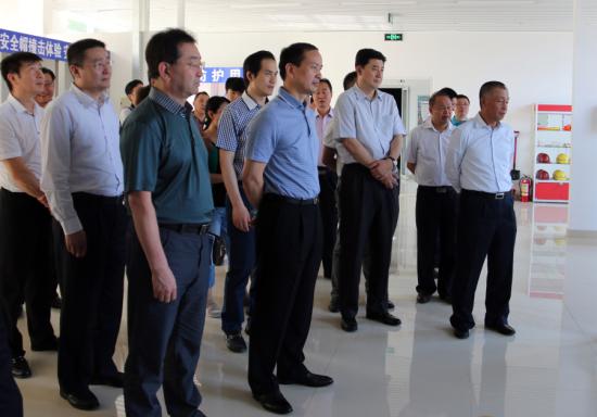 新兴集团安全教育培训在总公司体验基地举办