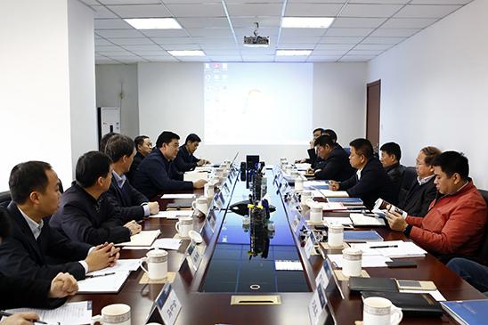 总公司与南航北京新机场建设指挥部洽谈合作