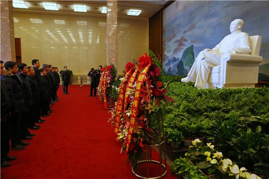 马健峰总经理应邀参加毛主席纪念堂管理局座谈会